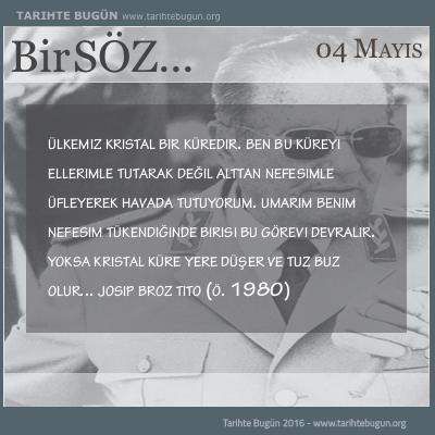 Josip Broz Tito kimdir ölüm tarihi