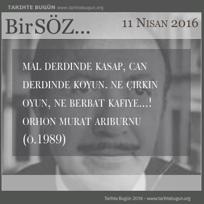 Orhon Murat Arıburnu hayatını kaybetti