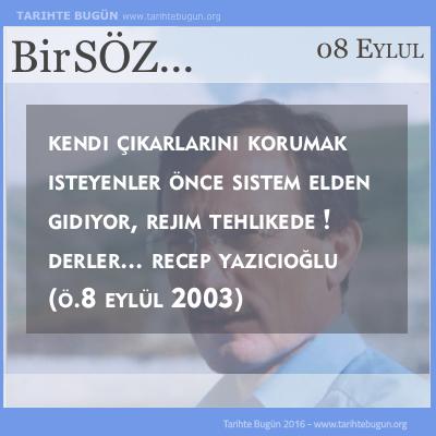 Recep Yazıcıoğlu öldü