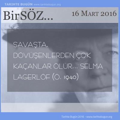 Selma Lagerlöf nobel ödülünü kazanan ilk kadın yazar öldü