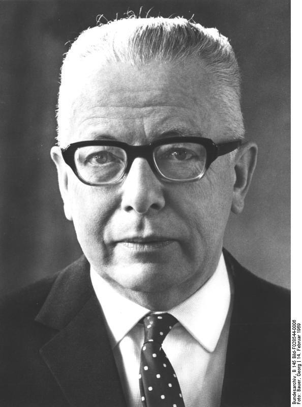Gustav Heinemann, Almanyanın 3. devlet başkanı (ÖY-1976) tarihte bugün