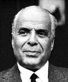 Habib Burgiba Tunus Devletinin kurucusu ve ilk devlet başkanı (ÖY-2000) tarihte bugün