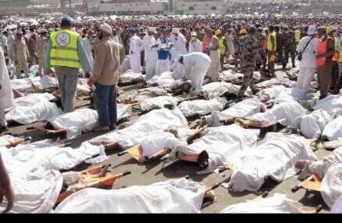 Hac için gelenlerin barındığı Mina çadır kentinde çıkan izdihamda en az 753 kişinin öldü. 888 kişi yaralandı. tarihte bugün
