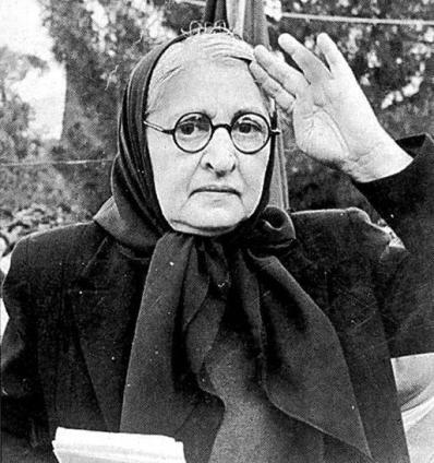 Yazar Halide Edip Adıvar. tarihte bugün