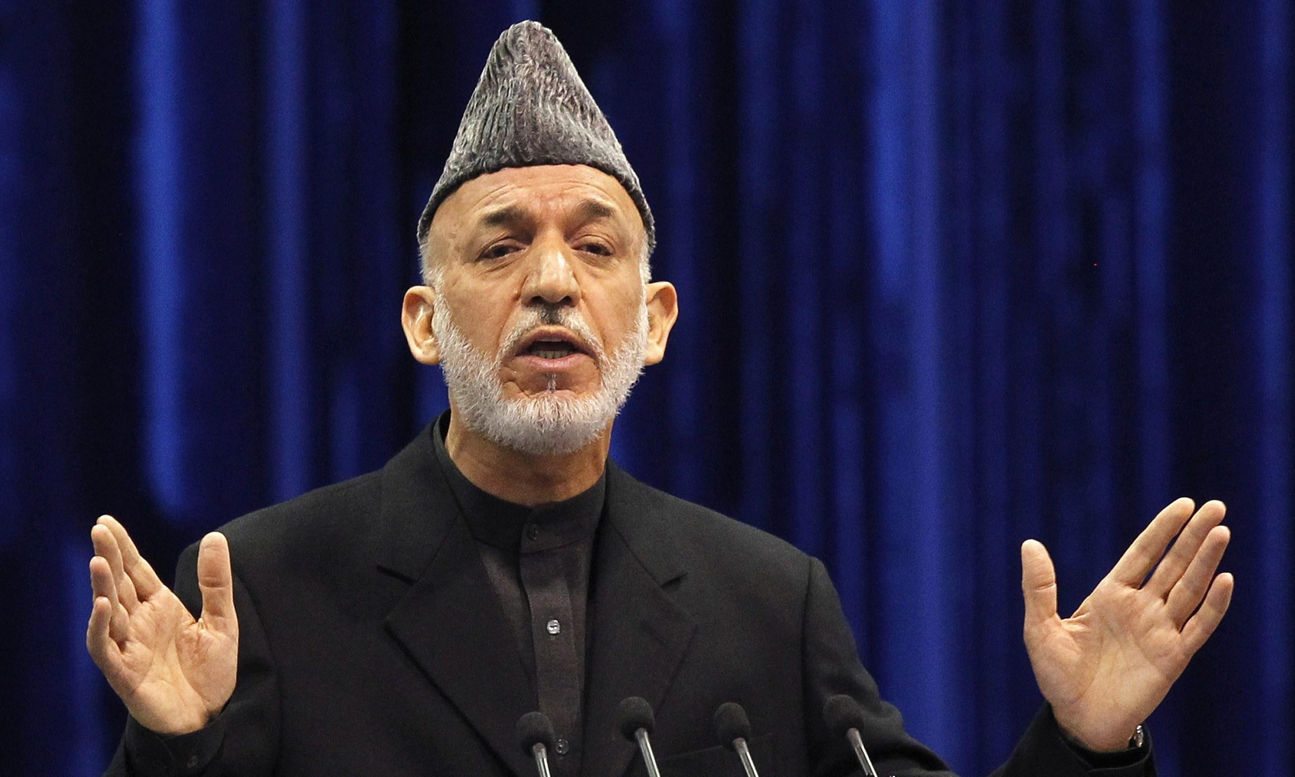 Hamid Karzai, Afganistan başbakanı
