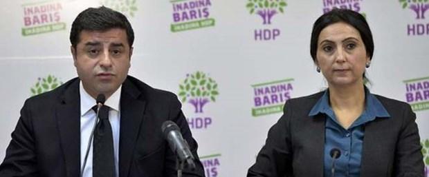 HDPLi Vekillere Gözaltı Ve Tutuklama
