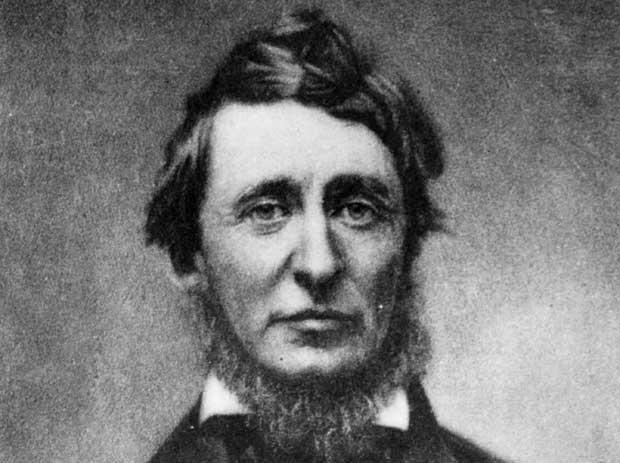 Henry David Thoreau, Amerikalı yazar (DY-1817) tarihte bugün