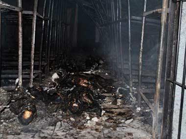 Hondurasın Comayagua Cezaevinde Yangın