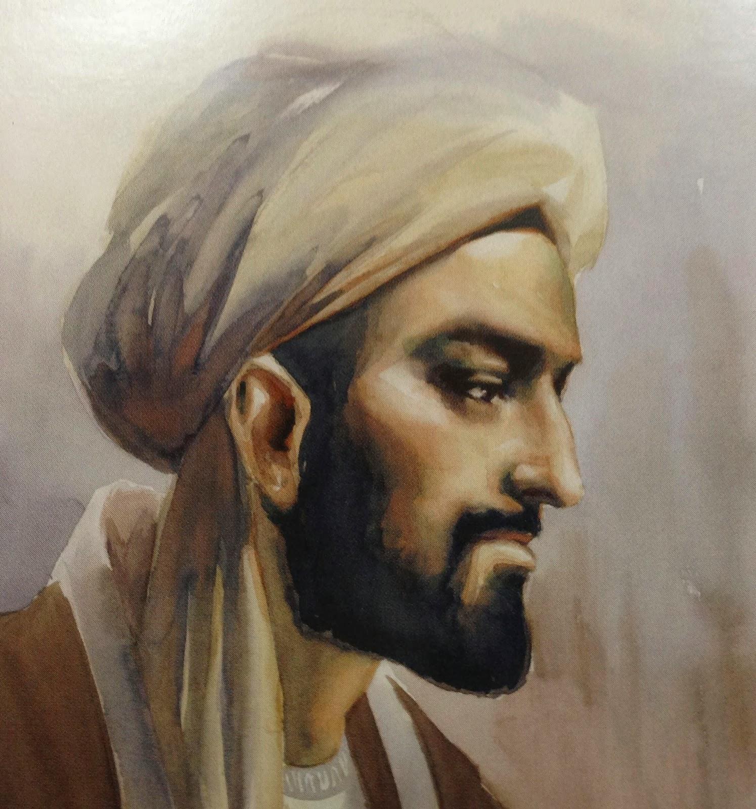 Düşünür ve tarihçi İbni Haldun. tarihte bugün