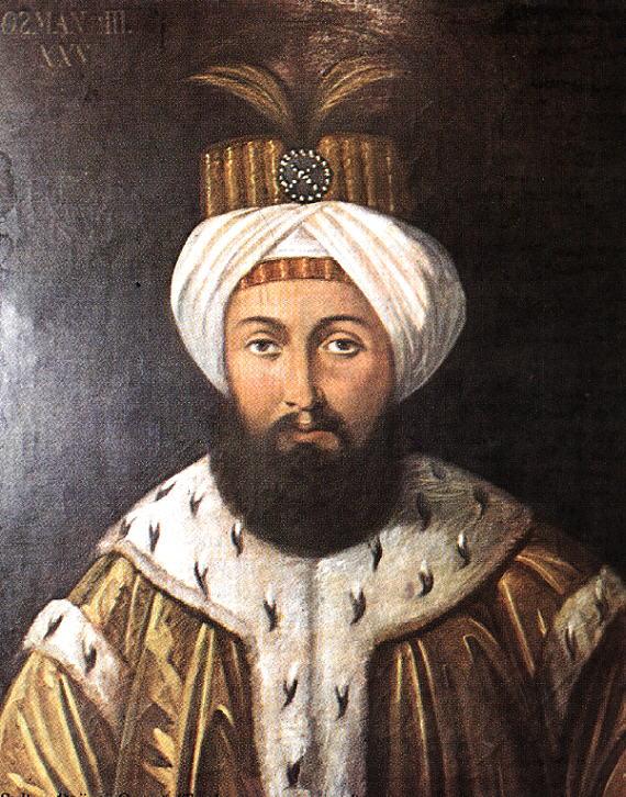 III. Osman, 25. Osmanlı padişahı. tarihte bugün