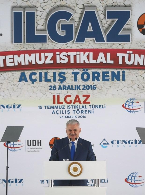 Ilgaz On Beş Temmuz İstiklal Tüneli Açıldı