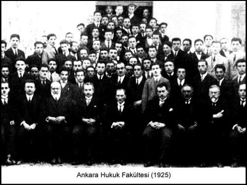 İlk Hukuk okulu Ankara Hukuk Mektebi