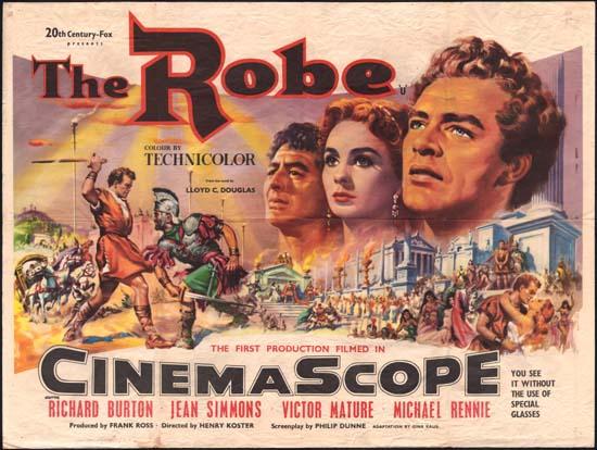 İlk sinemaskop film gösterimi