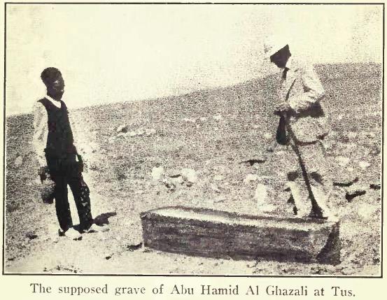 İslam düşünürü İmam Gazali. tarihte bugün