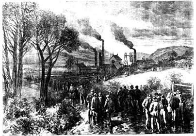 İngiltere Oaks Kömür ocağı faciası