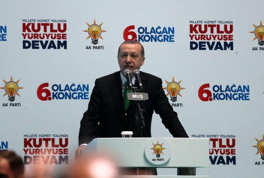 Cumhurbaşkanı Erdoğan Muş 6. Olağan İl Kongresi'nde yaptığı konuşmada: