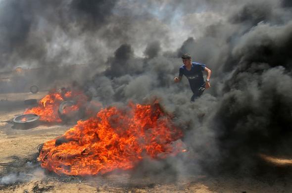 İsrail Kanlı Pazartesi Katliamı