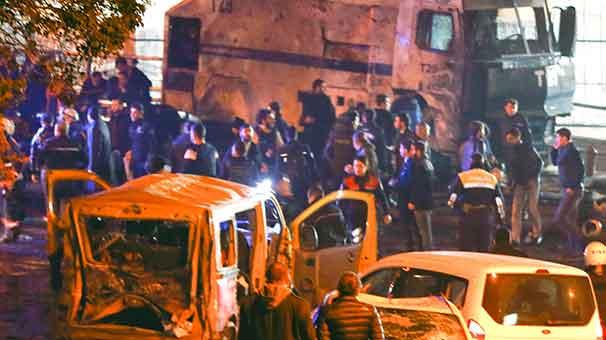 İstanbul Başiktaş Maçka'da terör saldırısı. 44 Şehit, 164 yaralı.  tarihte bugün