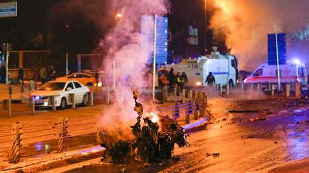 İstanbul Maçka Patlaması