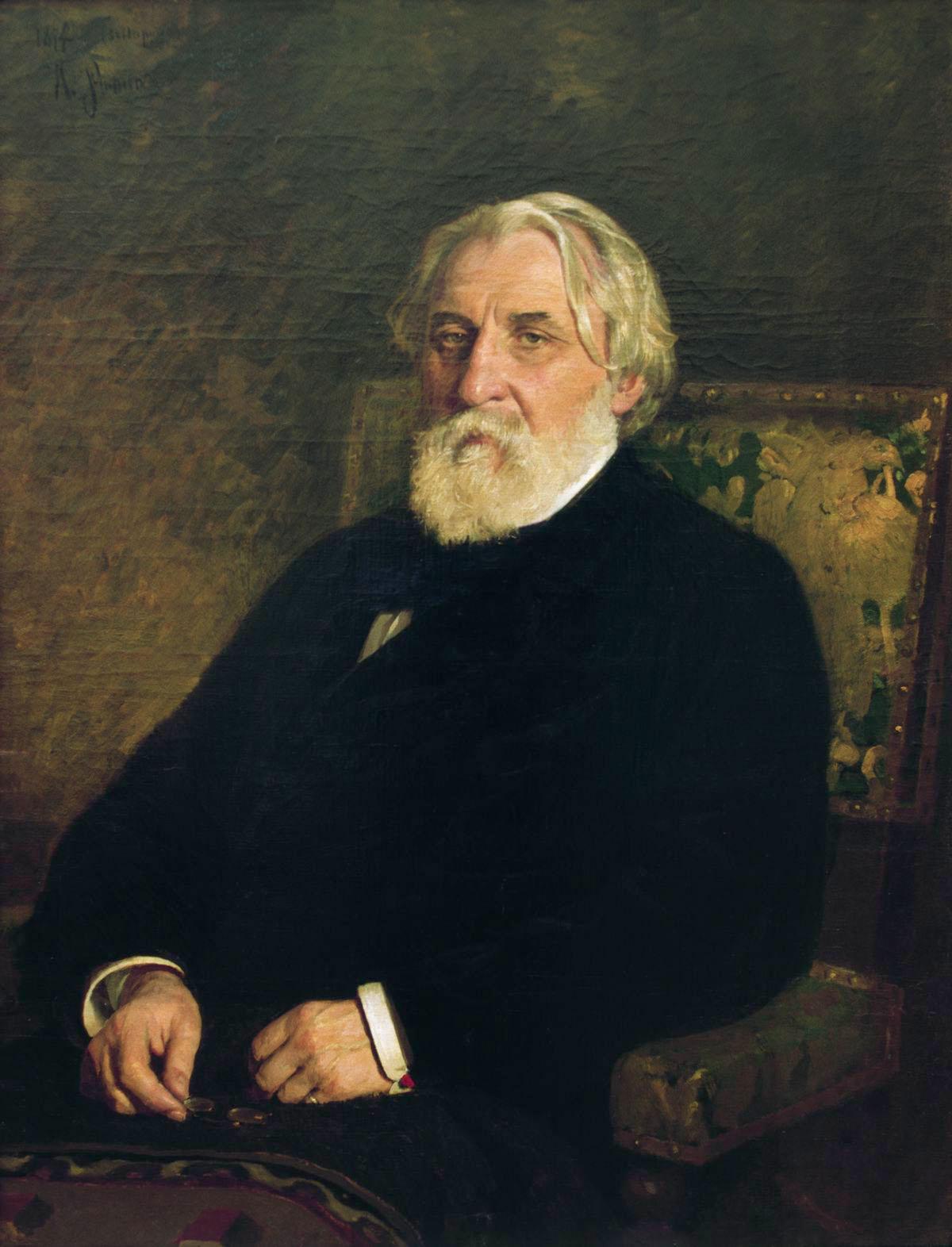ivan Sergeyeviç Turgenyev, Rus romancı, oyun yazarı (DY-1818) tarihte bugün