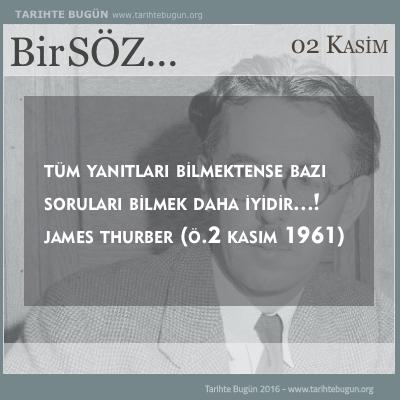 James Thurber kimdir ölüm tarihi