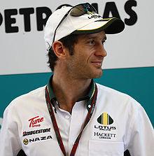 Jarno Trulli, italyan Formula 1 pilotlarından tarihte bugün