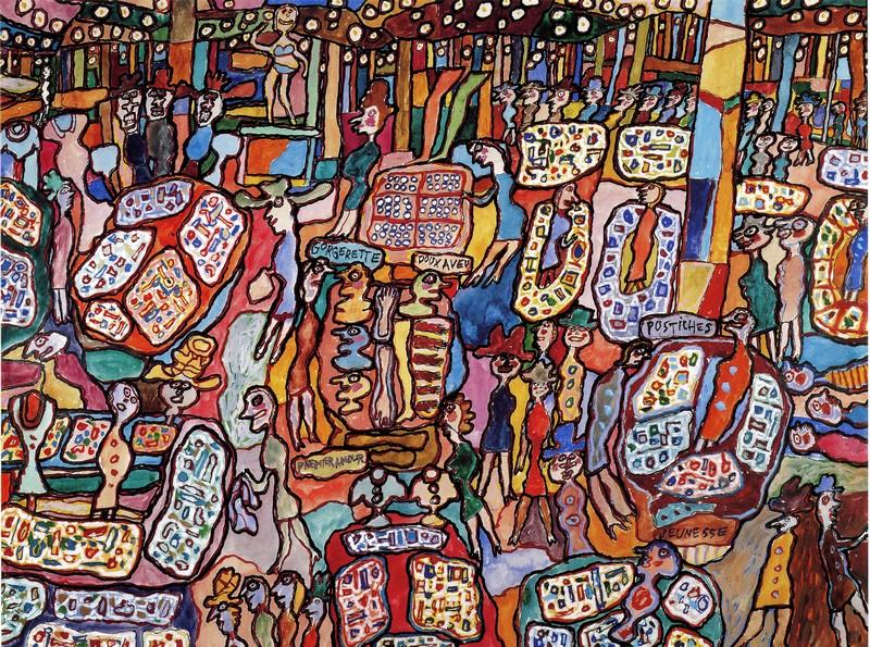 Jean Dubuffet, Fransız ressam, heykeltıraş (ÖY-1985)