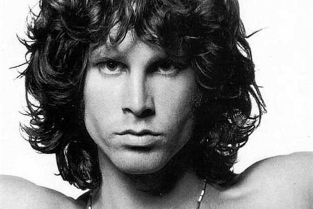 Doors müzik grubunun lideri şarkıcı ve besteci Jim Morrison. tarihte bugün