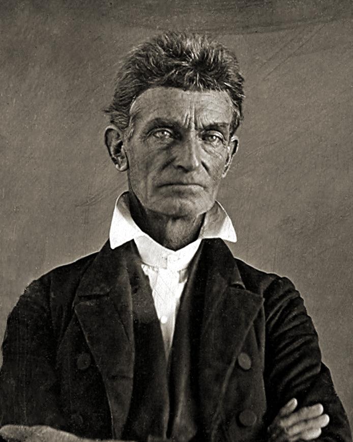 ABD'de köleliğe karşı isyanın siyah önderi John Brown. tarihte bugün