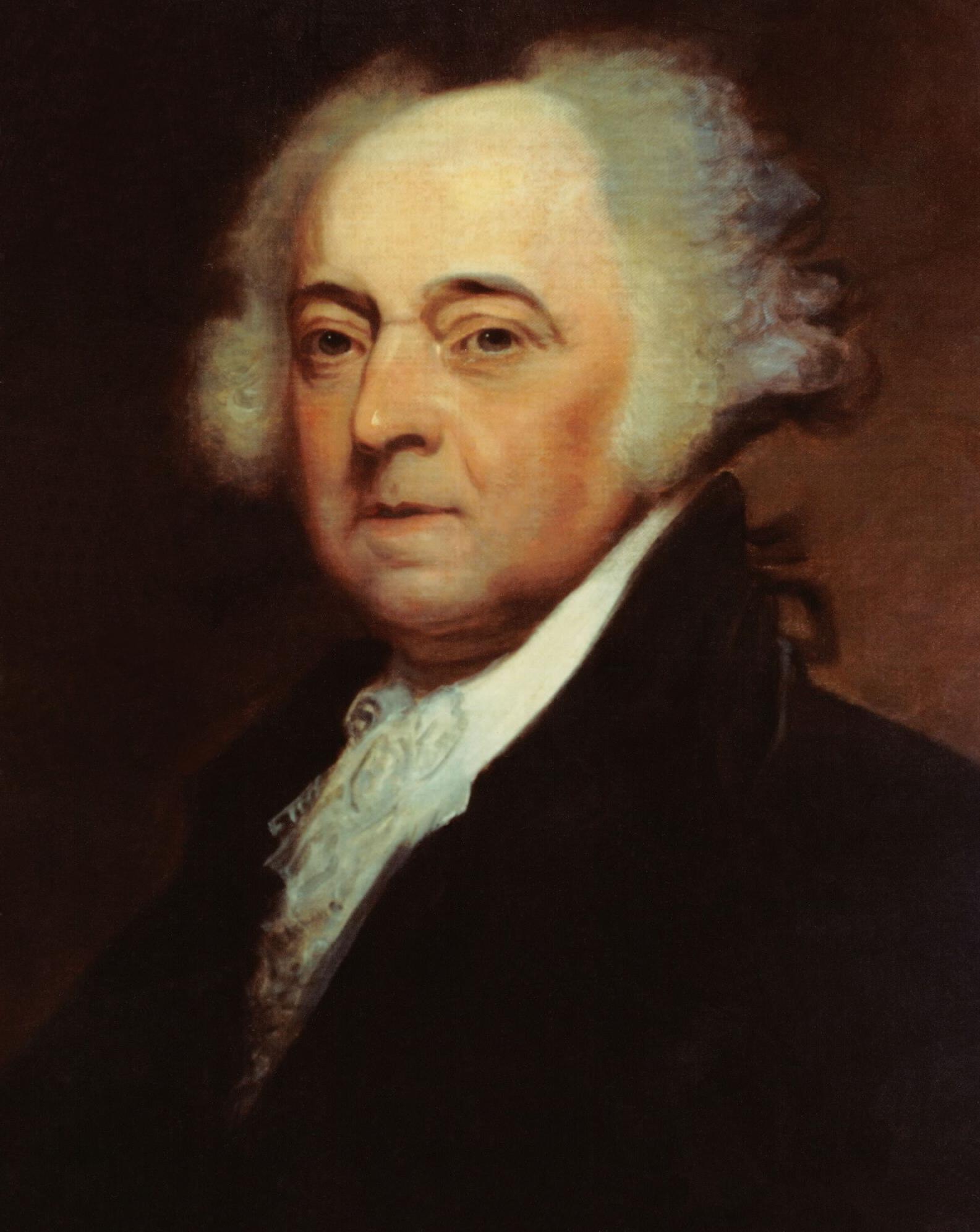 John Adams, Amerika Birleşik Devletleri'nin ikinci başkanı (DY-1735) tarihte bugün