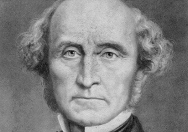 İngiliz  düşünür John Stuart Mill tarihte bugün