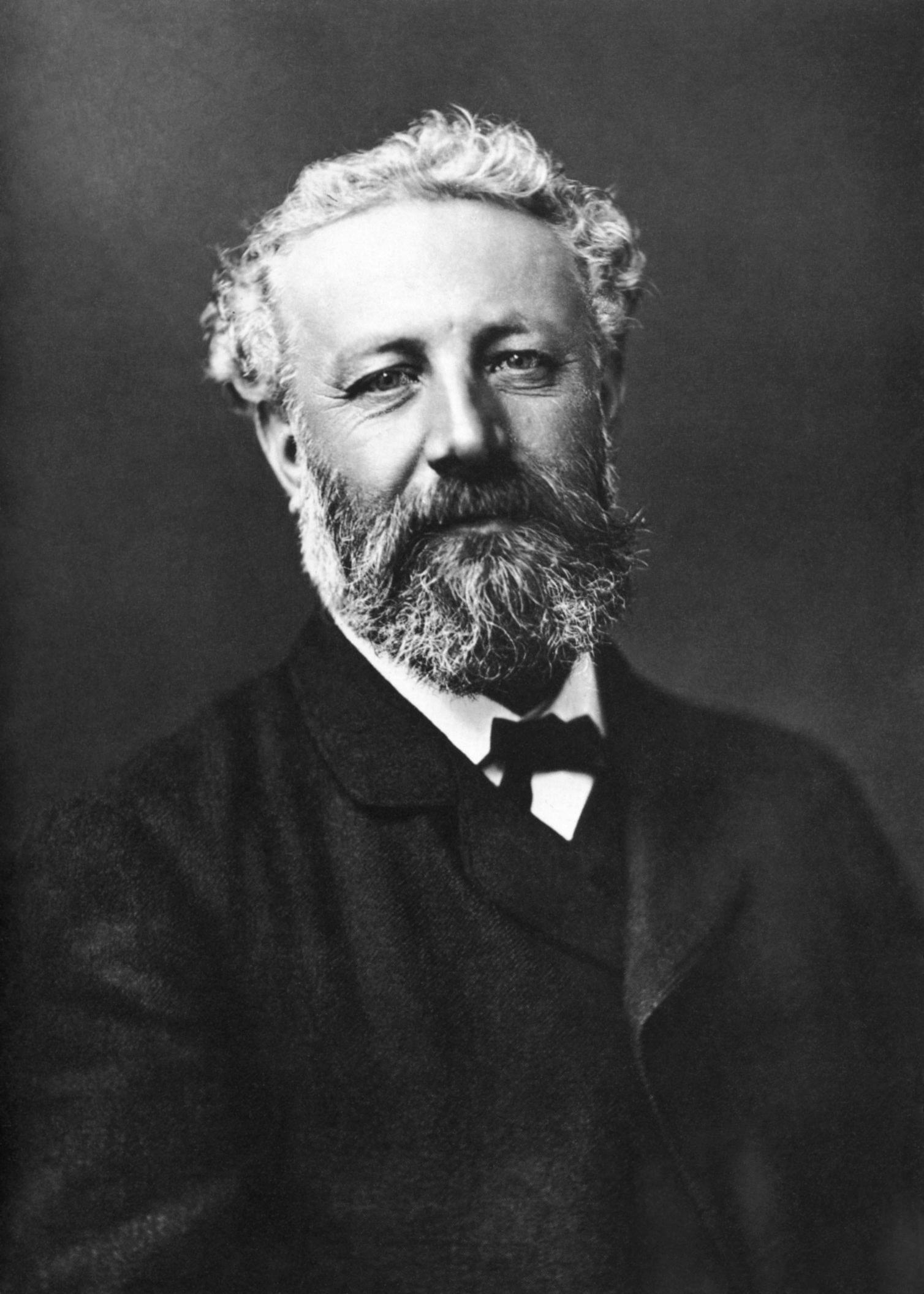 Fransız yazar, bilim kurgu romanının öncüsü Jules Verne. tarihte bugün