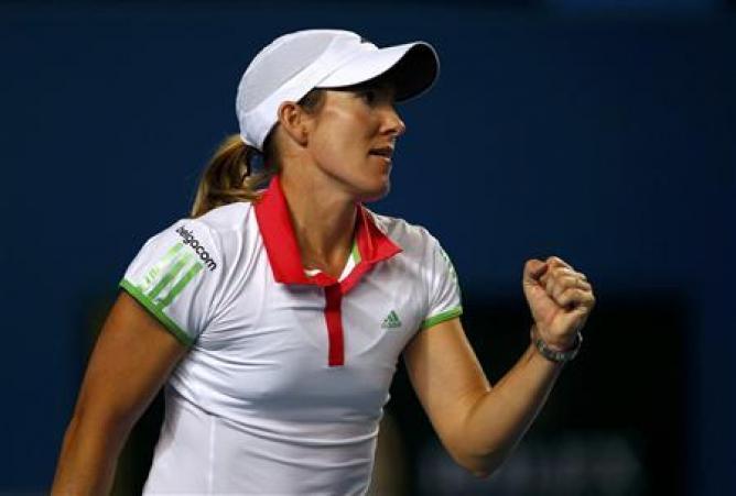 Justine Henin, tenisçi tarihte bugün