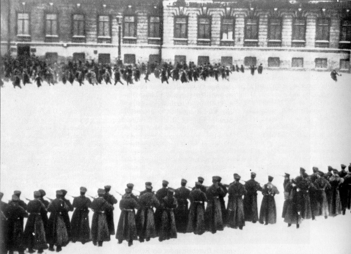 Kanlı Pazar Moskova Kışlık Saray