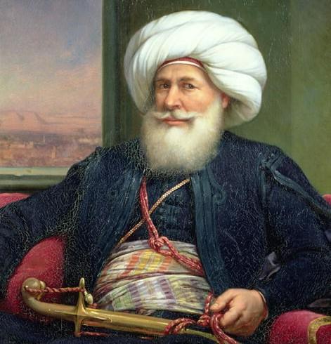 Kavalalı Mehmet Ali Paşa Vefatı