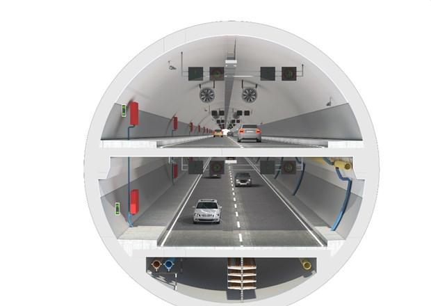 Kazlıçeşme Göztepe Avrasya Tüneli Açıldı.