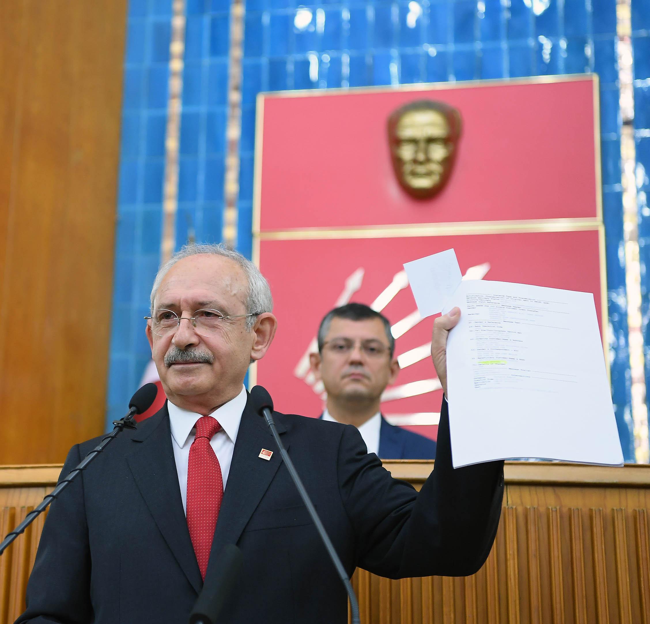 Kemal Kılıçdaroğlu Elindeki Belgeleri Açıkladı