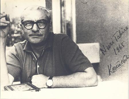 Kemal Tahir, roman yazarı. (ÖY-1973)