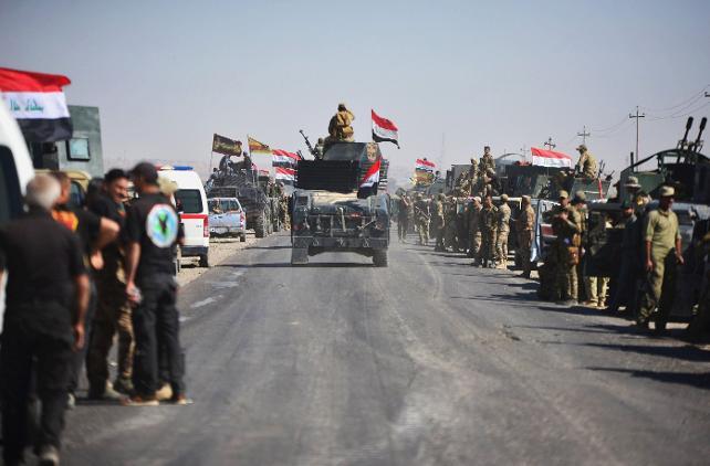 Kerkük Irak Ordusunun Kontrolüne Geçti