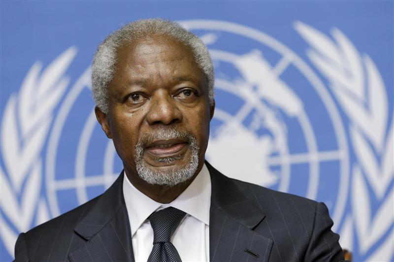 BM eski genel sekreteri Kofi Annan hayatını kaybetti tarihte bugün