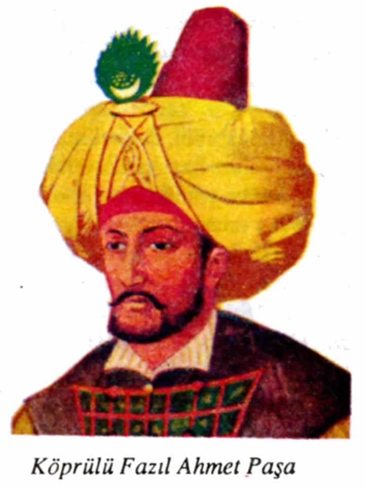 Köprülü Fazıl Ahmed Paşa, Osmanlı Sadrazamı (DY-1635) tarihte bugün