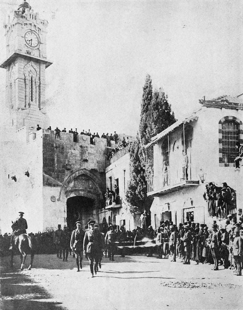 Kudüs Osmanlı Devleti'nin elinden çıktı. tarihte bugün