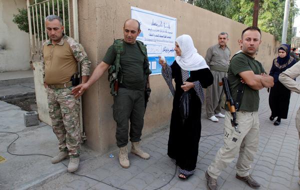 Kuzey Irakta Barzani Refarandumu
