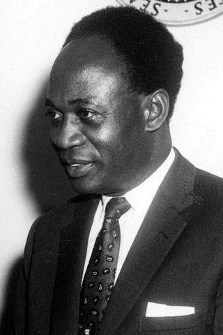 Kwame Nkrumah, Gana bağımsızlık lideri (DY-1909) tarihte bugün