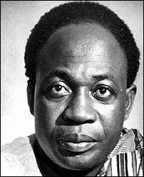 Kwame Nkrumah, Gana cumhurbaşkanı tarihte bugün