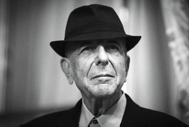 Leonard Cohen, Kanadalı şair