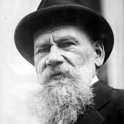 Rus romancı Lev Tolstoy. tarihte bugün