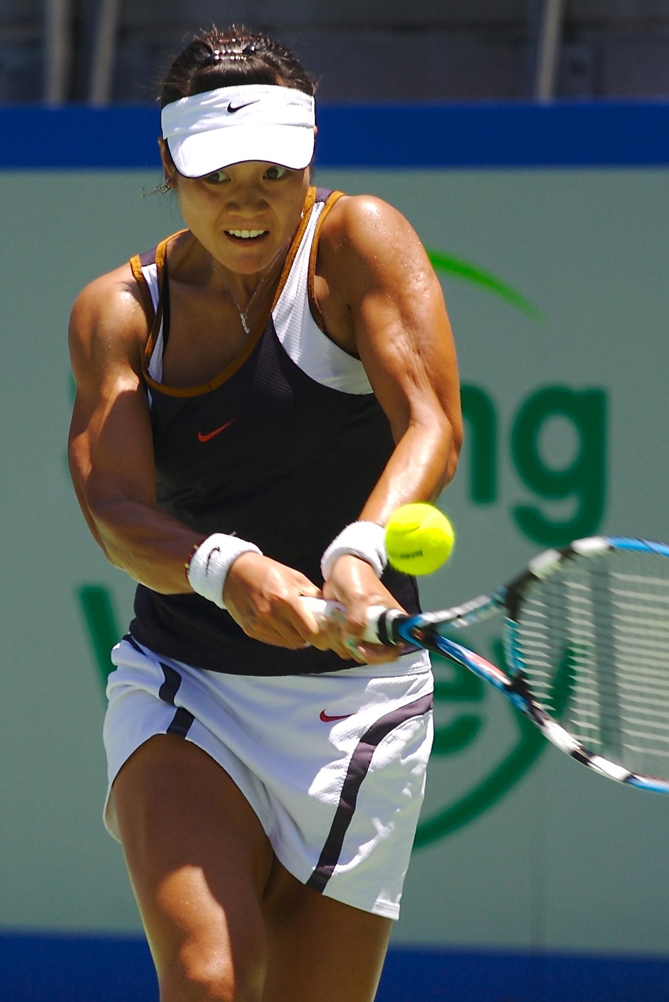 Li Na, Çinli profesyonel tenisçi tarihte bugün
