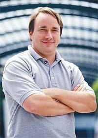 Linus Benedict Torvalds, Linux işletim sisteminin geliştiricisi tarihte bugün