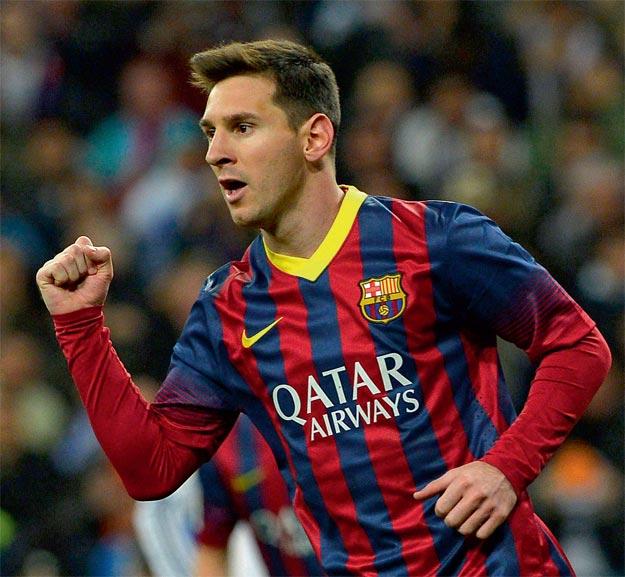 Lionel Messi, Arjantinli futbolcu tarihte bugün